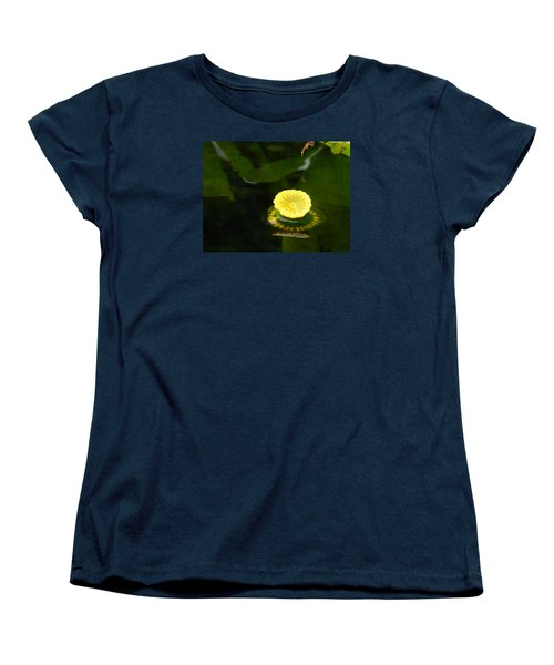 Spatterdock Reflections Women's T-Shirt (Standard Cut) by Warren Thompson