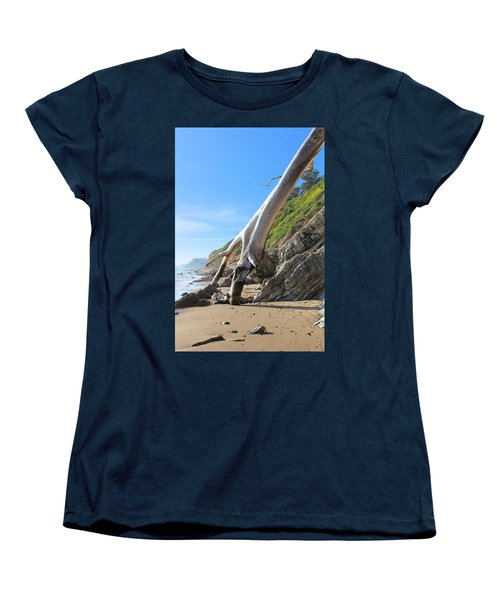 Spears On The Coast Women's T-Shirt (Standard Cut) by Viktor Savchenko