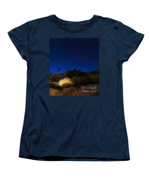 Special Glow Women's T-Shirt (Standard Cut) by Angela J Wright