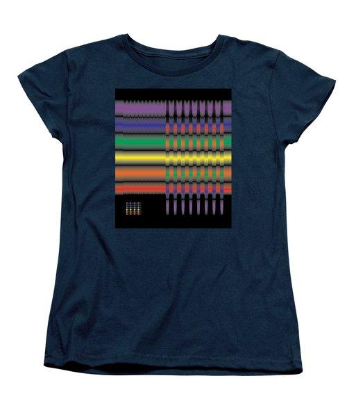 Spectral Integration Women's T-Shirt (Standard Cut) by Kevin McLaughlin