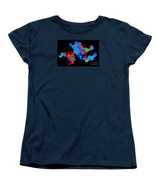 Spectrum No. 1 - Modern Art Women's T-Shirt (Standard Cut) by Merton Allen