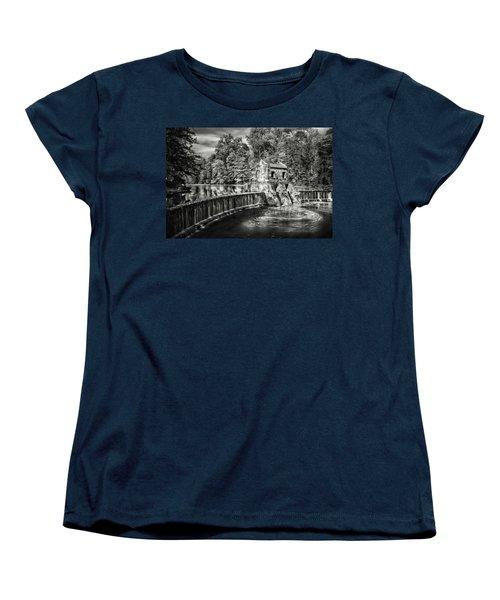 Women's T-Shirt (Standard Cut) featuring the photograph Speedwell Swirls by Eduard Moldoveanu