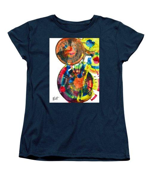 Sphere Series 967.030812 Women's T-Shirt (Standard Cut) by Kris Haas
