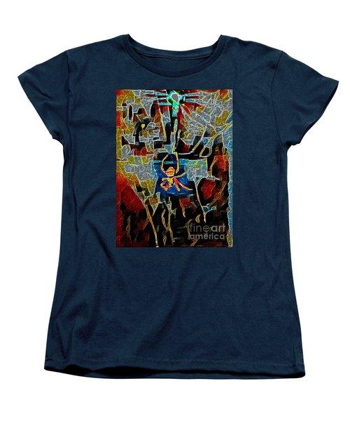 Spider Women's T-Shirt (Standard Cut) by Karen Newell