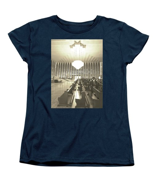 Women's T-Shirt (Standard Cut) featuring the photograph Spritual Connection by Beto Machado