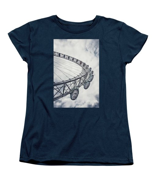 Spin Me Around Women's T-Shirt (Standard Cut) by Evelina Kremsdorf