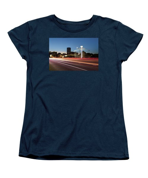 Spinning Swing Chair Carnival Rides Long Exposure Women's T-Shirt (Standard Fit)