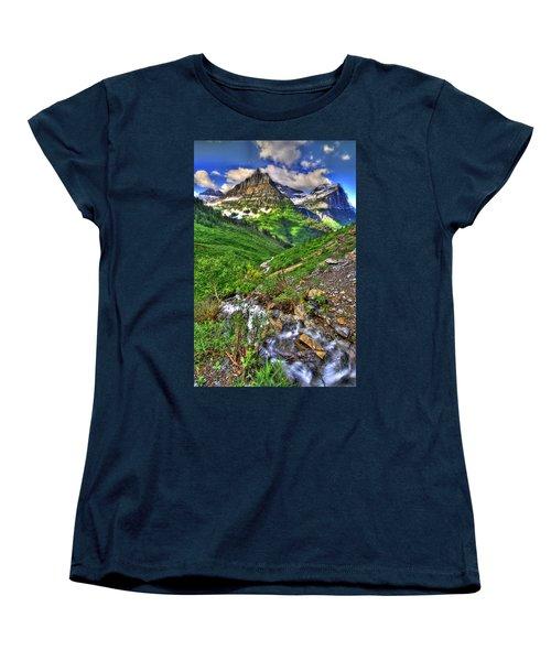 Spires And Stream Women's T-Shirt (Standard Cut) by Scott Mahon