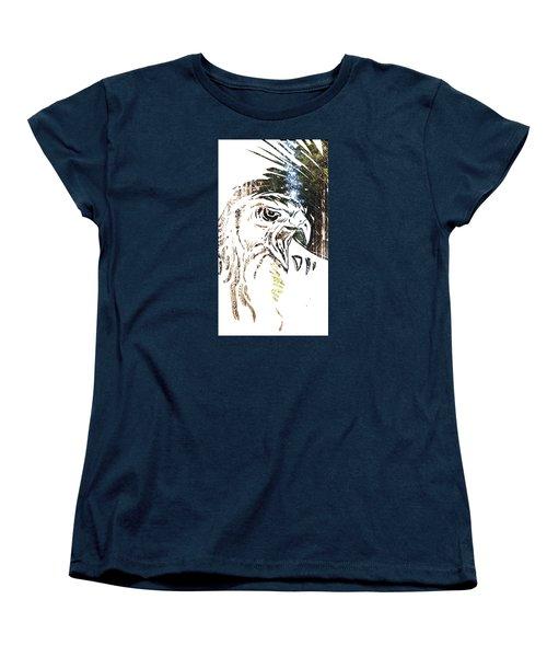 Spirit Animal . Hawk Women's T-Shirt (Standard Cut) by John Jr Gholson