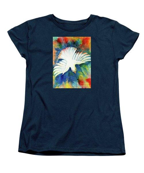 Spirit Fire Women's T-Shirt (Standard Cut) by Nancy Cupp