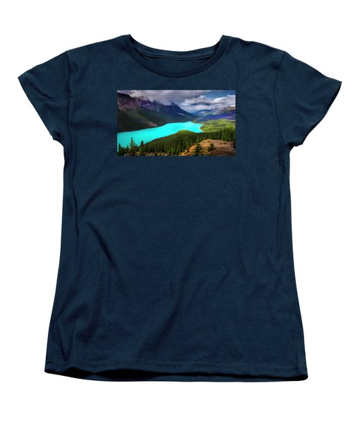 Women's T-Shirt (Standard Cut) featuring the photograph  Spirit Of The Wolf by John Poon