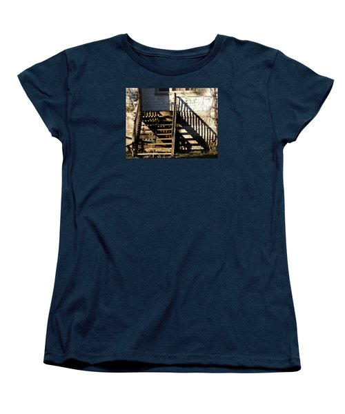 Spirit Stairs Women's T-Shirt (Standard Cut) by Brian Chase