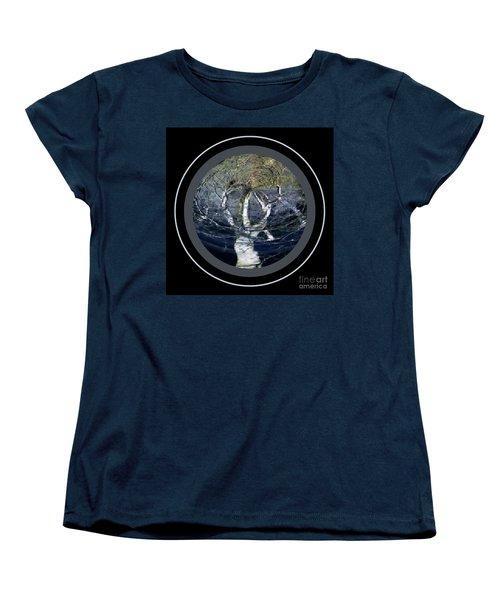 Spirit Tree Women's T-Shirt (Standard Cut) by Jodie Marie Anne Richardson Traugott          aka jm-ART