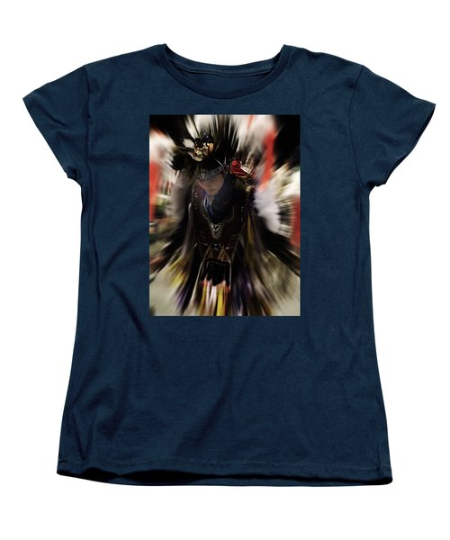 Spirited Dancer Women's T-Shirt (Standard Cut) by Audrey Robillard