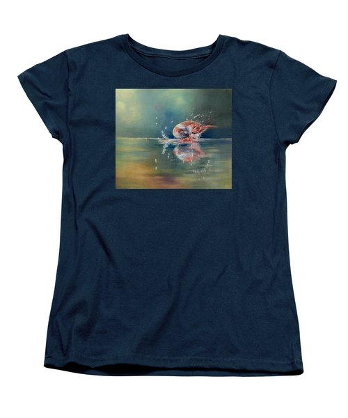Splash Women's T-Shirt (Standard Cut) by Ceci Watson