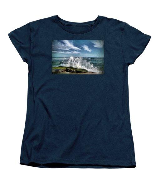 Splash Happy Women's T-Shirt (Standard Cut) by Kym Clarke