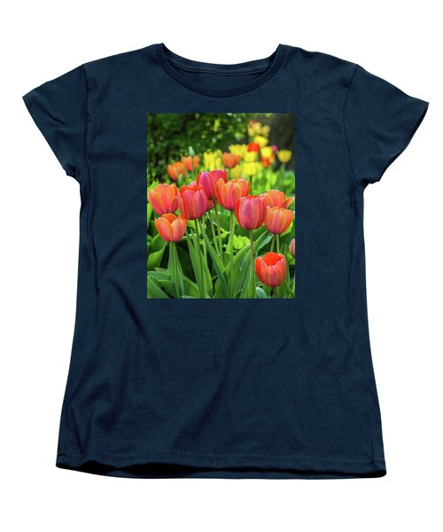 Women's T-Shirt (Standard Cut) featuring the photograph Splash Of April Color by Bill Pevlor