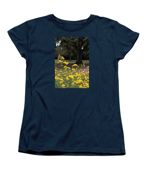Splashes Of Yellow Women's T-Shirt (Standard Cut) by Suzanne Gaff