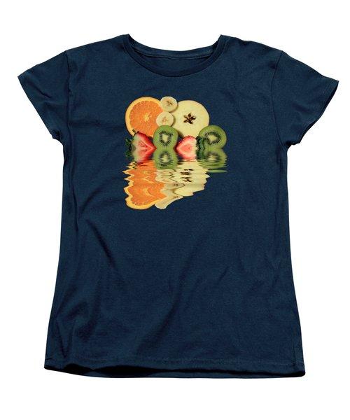 Women's T-Shirt (Standard Cut) featuring the photograph Split Reflections by Shane Bechler