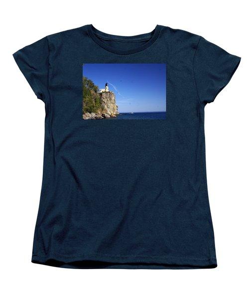Split Rock 1 Women's T-Shirt (Standard Cut) by Marty Koch
