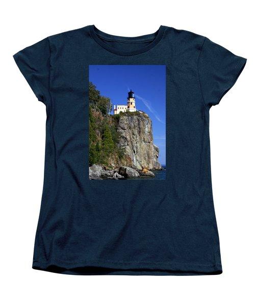Split Rock 2 Women's T-Shirt (Standard Cut) by Marty Koch