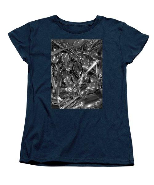 Spoons Women's T-Shirt (Standard Cut) by Henri Irizarri