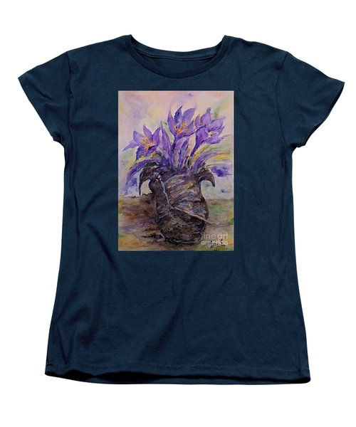 Spring In Van Gogh Shoes Women's T-Shirt (Standard Cut)