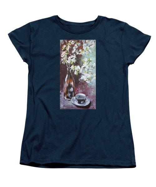 Spring Breakfast Women's T-Shirt (Standard Cut) by Vali Irina Ciobanu