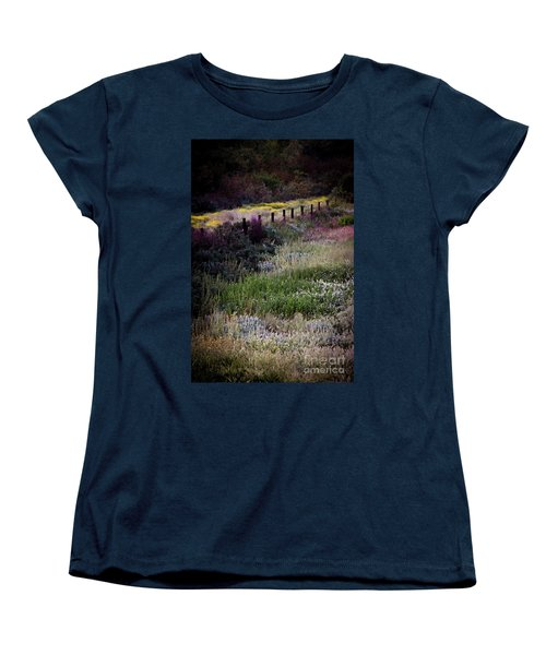 Women's T-Shirt (Standard Cut) featuring the photograph Spring Colors by Kelly Wade