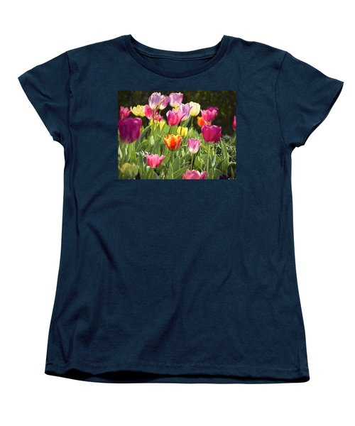 Spring Colors Women's T-Shirt (Standard Cut) by Penny Lisowski