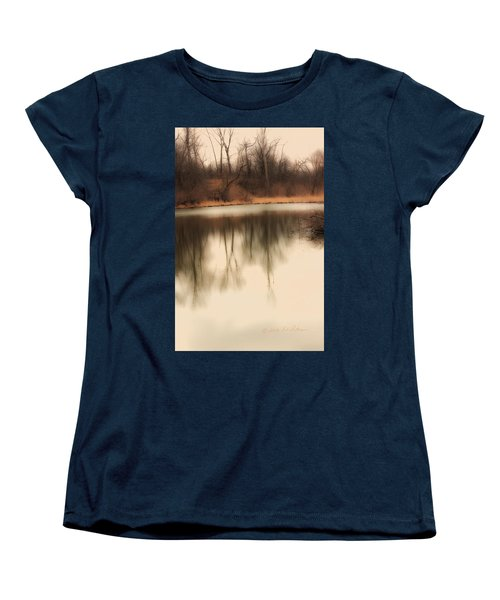 Women's T-Shirt (Standard Cut) featuring the photograph Spring Coming by Edward Peterson