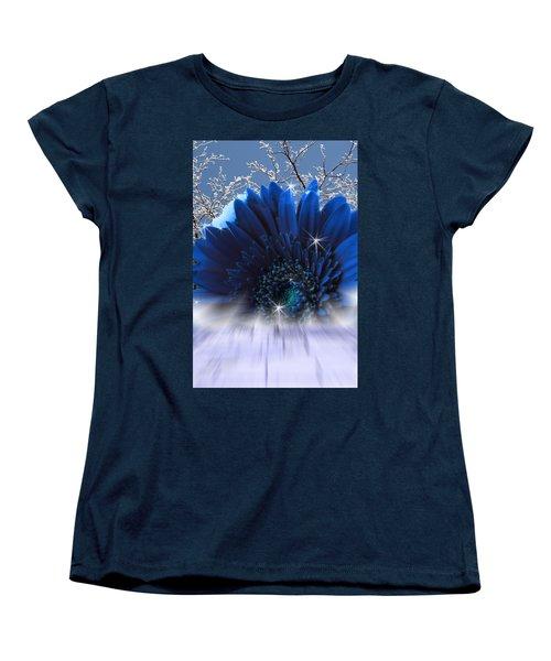 Women's T-Shirt (Standard Cut) featuring the digital art Spring Emergence  by Cathy  Beharriell