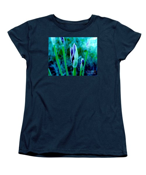 Women's T-Shirt (Standard Cut) featuring the photograph Spring Erupting Early by Marsha Heiken