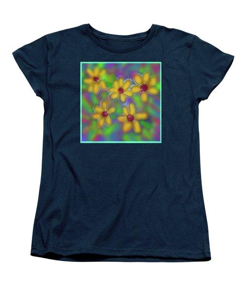 Spring Fever Women's T-Shirt (Standard Cut) by Latha Gokuldas Panicker