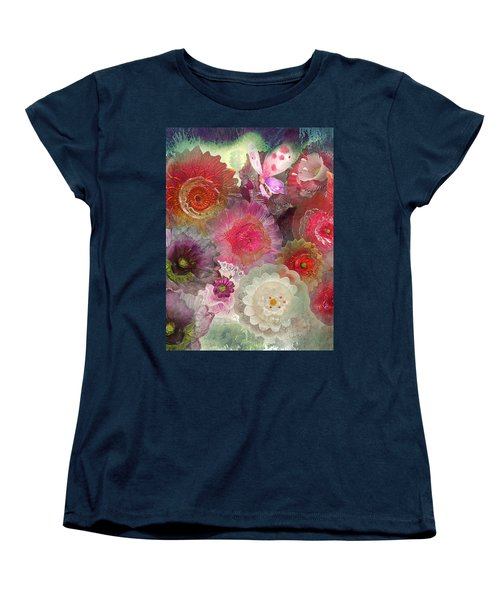 Women's T-Shirt (Standard Cut) featuring the photograph Spring Glass by Jeff Burgess