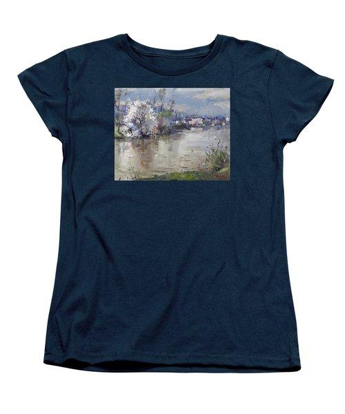 Spring In Hyde Park Women's T-Shirt (Standard Cut) by Ylli Haruni