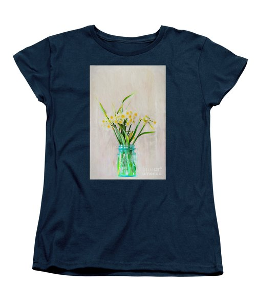 Women's T-Shirt (Standard Cut) featuring the photograph Spring In The Country by Benanne Stiens