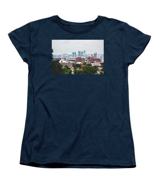 Women's T-Shirt (Standard Cut) featuring the photograph Spring In The Magic City - Birmingham by Shelby Young