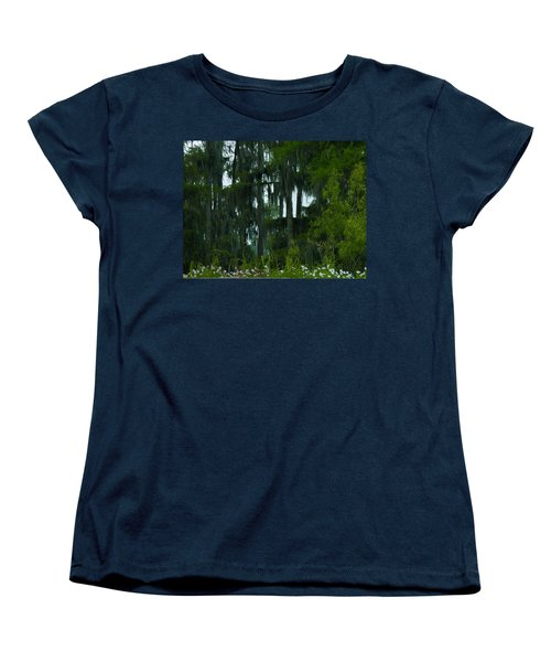 Spring In The Swamp Women's T-Shirt (Standard Cut) by Kimo Fernandez