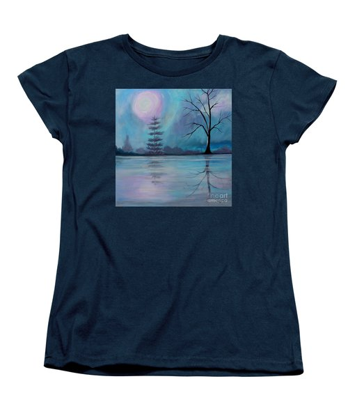 Women's T-Shirt (Standard Cut) featuring the painting Spring Morning by Stacey Zimmerman