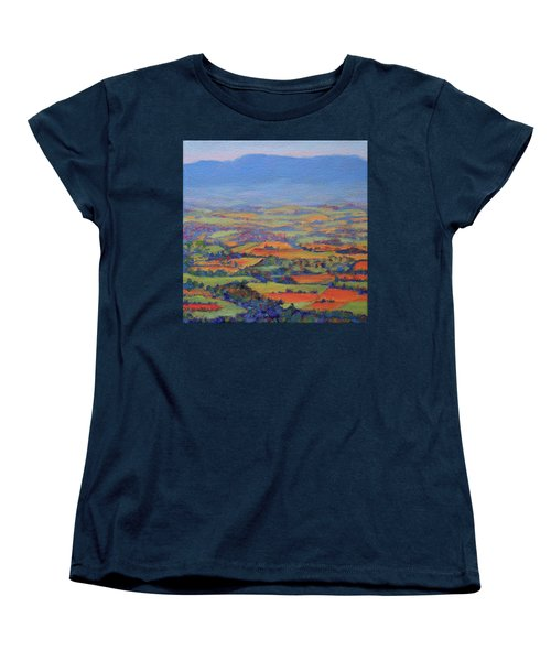 Spring Patchwork 1 Women's T-Shirt (Standard Cut) by Bonnie Mason