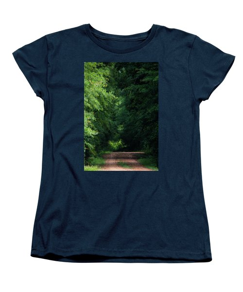 Women's T-Shirt (Standard Cut) featuring the photograph Spring Path Of Light by Shelby Young