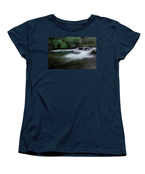 Women's T-Shirt (Standard Cut) featuring the photograph Spring River by Mike Eingle