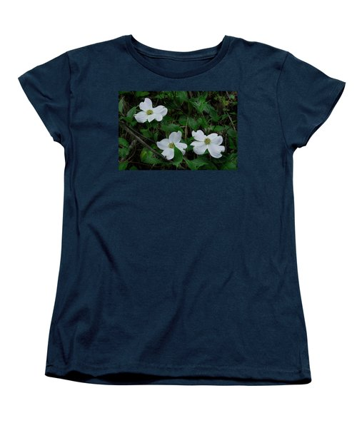 Women's T-Shirt (Standard Cut) featuring the photograph Spring Time Dogwood by Mike Eingle