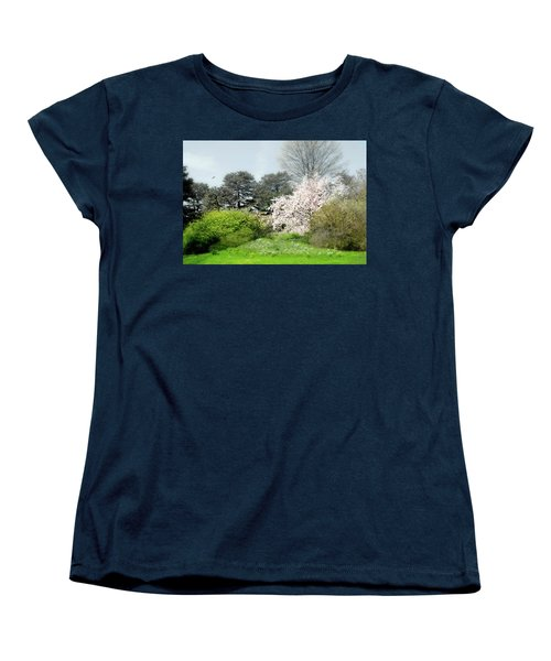 Women's T-Shirt (Standard Cut) featuring the photograph Spring Treasures by Diana Angstadt