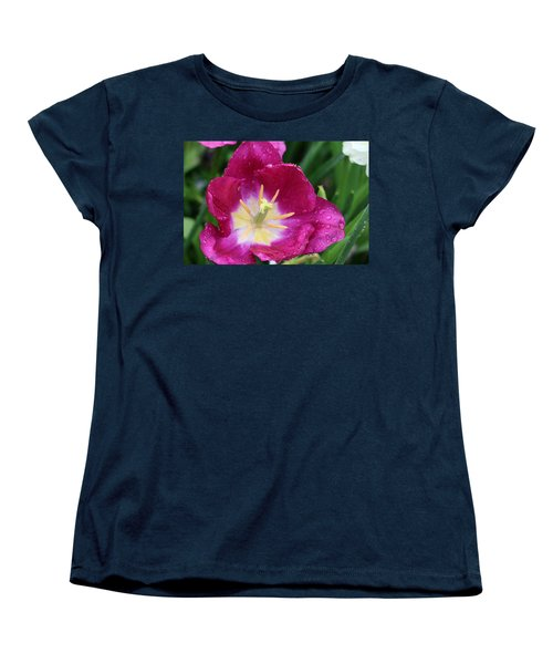 Spring Tulips 47 Women's T-Shirt (Standard Cut) by Pamela Critchlow
