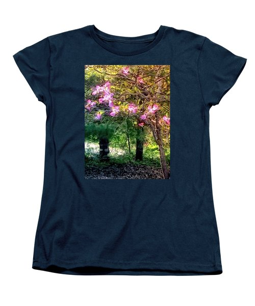 Spring Will Come Women's T-Shirt (Standard Cut) by Robin Regan