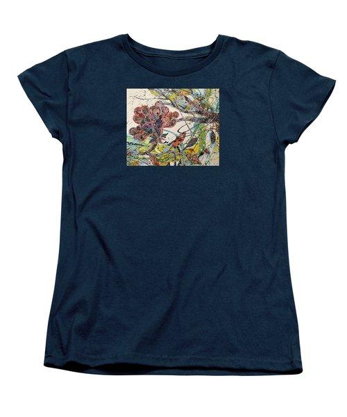 Springing Women's T-Shirt (Standard Cut) by Erika Pochybova