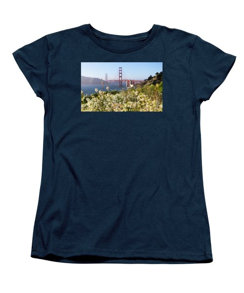 Women's T-Shirt (Standard Cut) featuring the photograph Springtime On The Bay by Everet Regal