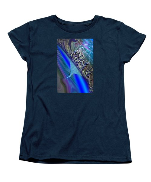 Women's T-Shirt (Standard Cut) featuring the painting Sprinters Awl by Steve Sperry